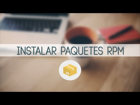 Como instalar paquetes .rpm