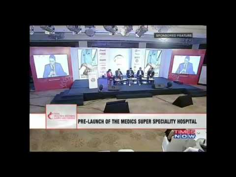 Medics Super Speciality Hospital Lucknow Prelaunch On Times Now Part (1)