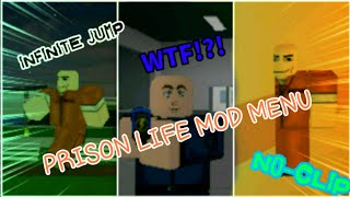 ~FUNNIEST~ NEW PRISON LIFE MOD MENU ON ANDROID ROBLOX