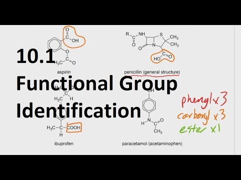 10.1 Functional Group Identification  [SL IB Chemistry]
