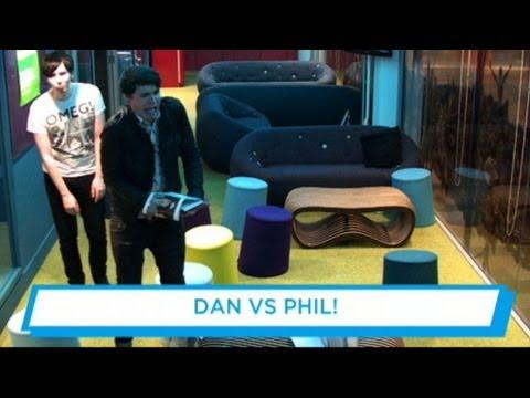 Dan Vs Phil - Posture Obstacle Course