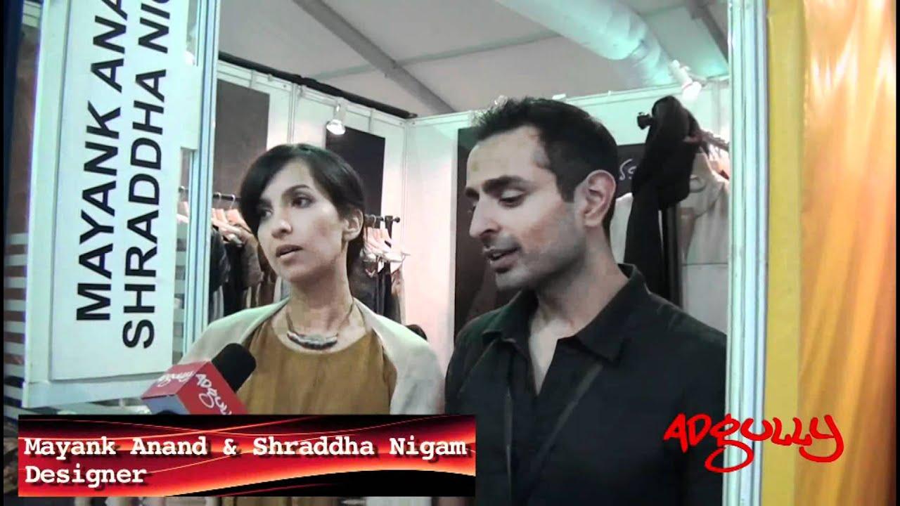 Adgully Exclusive Lakme Fashion Week Winter Festive 2017 Mayank Anand Shraddha Nigam You