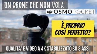 Un DRONE che non vola 🔥: DJI Osmo Pocket: è davvero così perfetto? Il mio parere