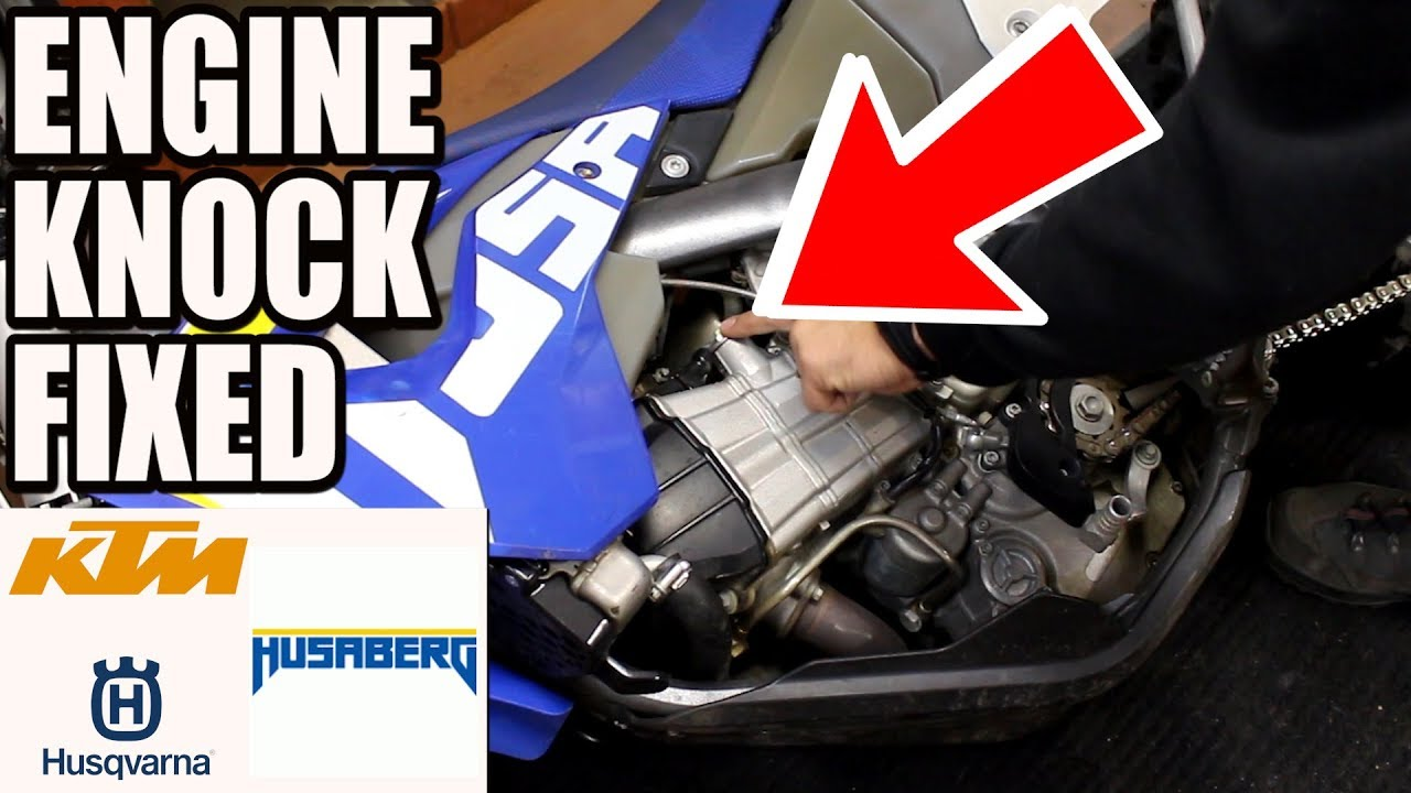 Download Fixing engine knock on KTM, Husky and Husaberg - Dirt Tricks timing chain tensioner installation