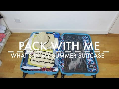 what's-in-my-summer-holiday-suitcase-/-pack-with-me-2016-|-sarah-rosegoes