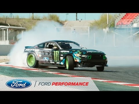 "Vaughn Gittin Jr. And His Ford Mustang RTR In ""Forever Drift"" 