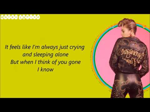 Miley Cyrus-Week Without You(LYRICS)