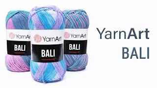 YarnArt Bali - эта пряжа одна из самых приятных, которую только можно применять для вязания одежды