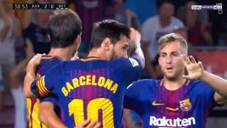 ملخص واهداف مباراة برشلونة وريال بيتيس(2-0) الجولة الاولى من الدوري الاسباني لموسم(2017-2018)