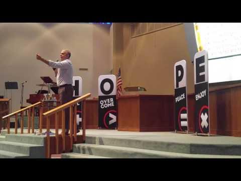 Pastor Roger Hernandez preaching on Hope Wins pt. 1 on 7 -29-17 l