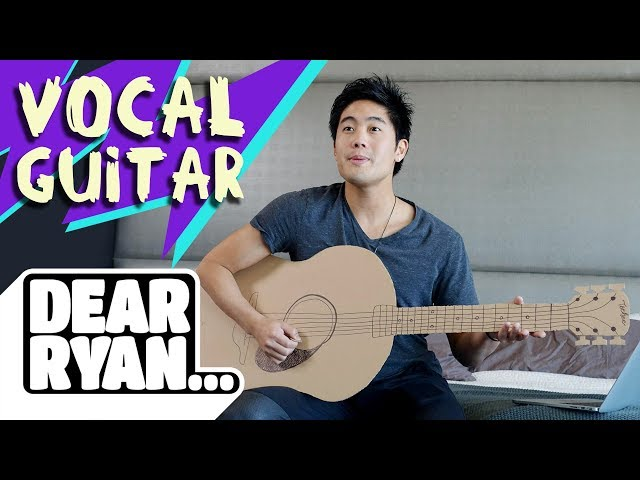 Cardboard Guitar!? (Dear Ryan)