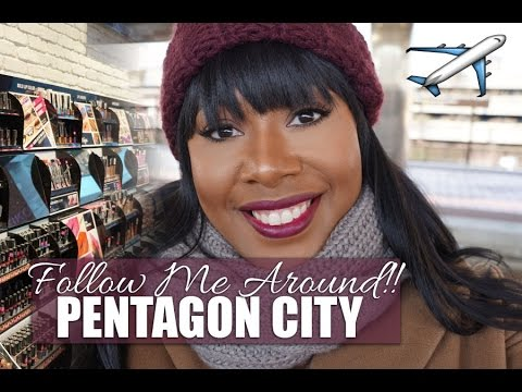 Travel With Me!! Shopping in D.C. Travel Day!! Planes & Trains
