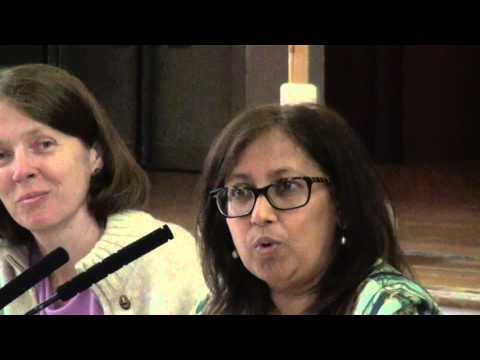 Purna Sen speaking at War Peace and Internationalism