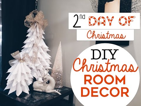 3-easy-christmas-room-decor-diy's-|-2nd-day-of-christmas!-|-diy-christmas-trees-for-small-spaces