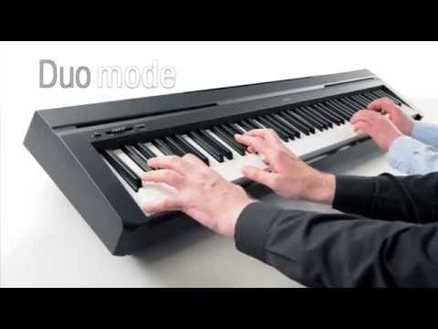 yamaha p 45 p45 digital piano. Black Bedroom Furniture Sets. Home Design Ideas