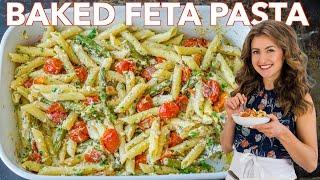 I Made BAKED FETA PASTA - Viral TikTok Recipe