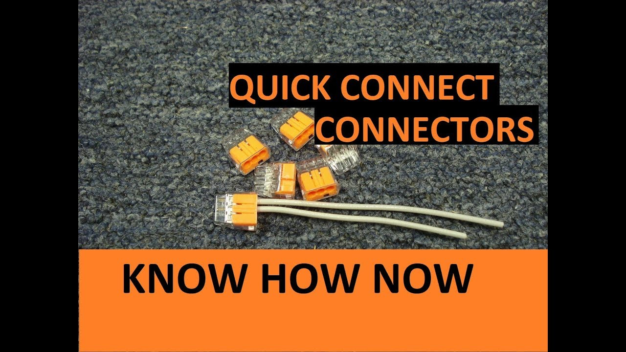 How To Use Push In Wire Connectors