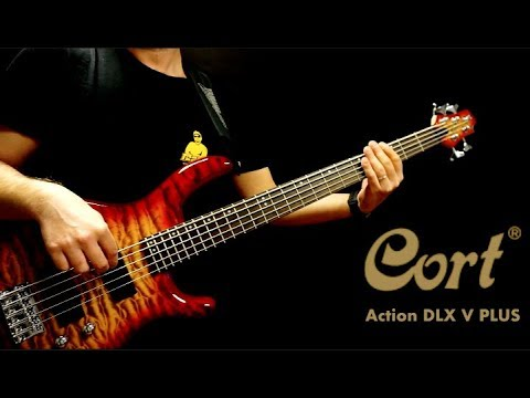 Cort Action DLX V Plus bass - review