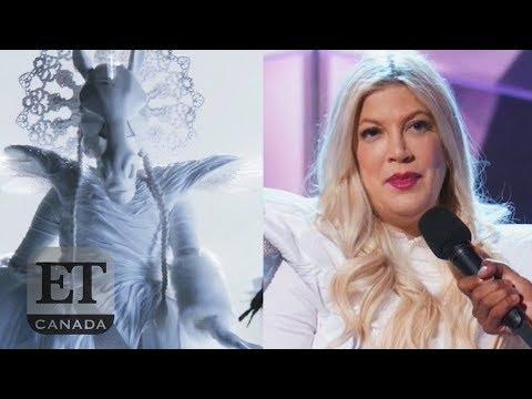 Tori Spelling Eliminated On 'The Masked Singer'