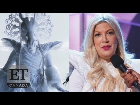 Tori Spelling Eliminated On 'The Masked Singer' - YouTube