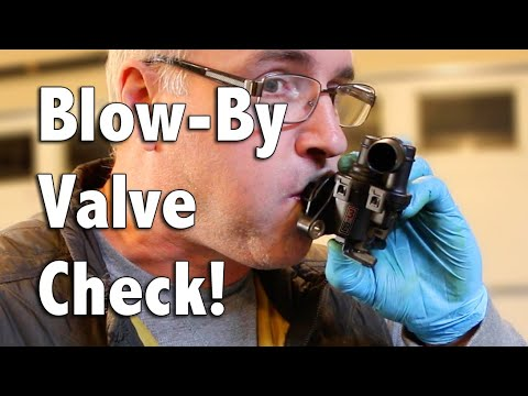 How To: Blow-By Valve Check for Sea-Doo PWC