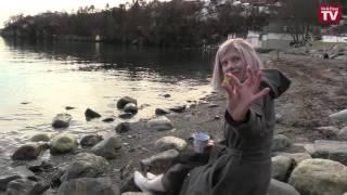 AURORA interviewed in hometown