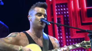 Robbie Williams - Motherfucker - 14/10/15 Adelaide HD FRONT ROW