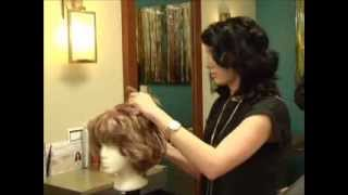 Wig Cutting and Styling for Cancer Patients