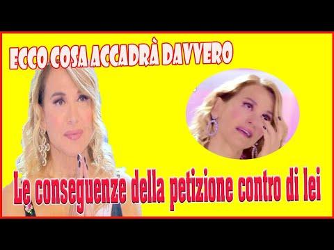 Barbara D'Urso, le conseguenze della petizione contro di lei ecco cosa accadrà davvero