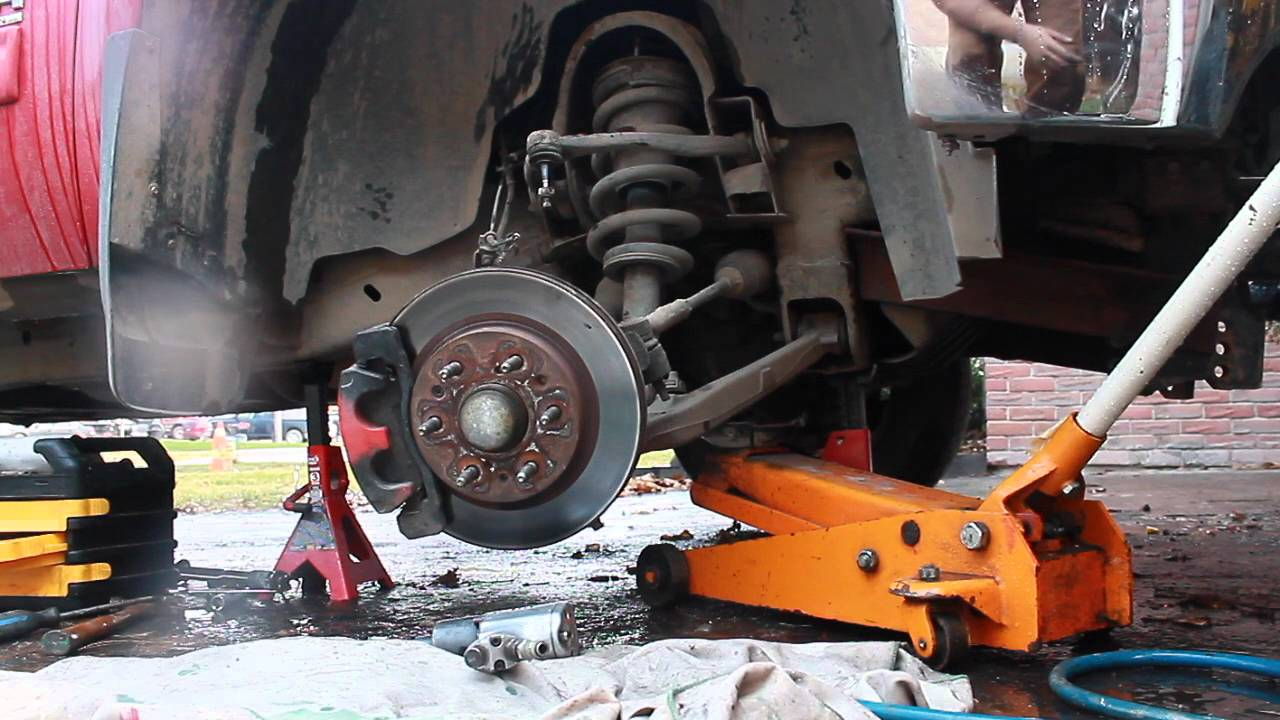 how to instal a 3 inch lift / levelling kit on a 2007-2013 GMC sierra Chevy  silverado