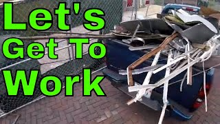 Make Money from Scrap Metal - Construction Dumpster Payday