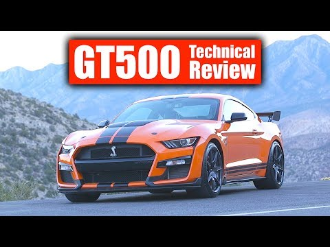 2020 Ford Mustang Shelby GT500 Review - The Most Powerful Ford Ever