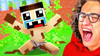ULTIMATE Minecraft LAUGH You LOSE Challenge Animation!