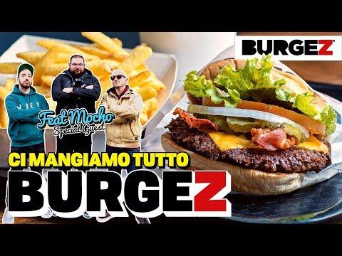 MANGIAMO TUTTO IL MENÙ di BURGEZ! feat. MOCHO