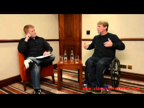 classicbikeshows: Tony Carter Interviews Wayne Rainey - Stafford Show, October 2011