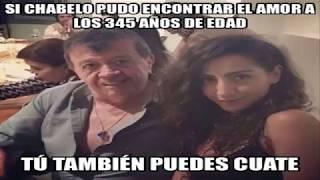Novia de Chabelo Karla Cruz Hermosa NOVIA de Chabelo Más Joven Memes Chabelo
