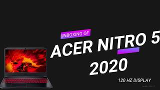 Acer Nitro 5 AN515-43 15.6-inch FHD IPS 120 Hz Display Gaming Notebook UNBOXING AND REVIEW VIDEO