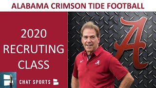 Alabama Football 2020 Recruiting - Nick Saban's #2 Ranked Class Led By Bryce Young & Chris Braswell