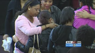 Funeral held for slain mother and 2 year-old daughter