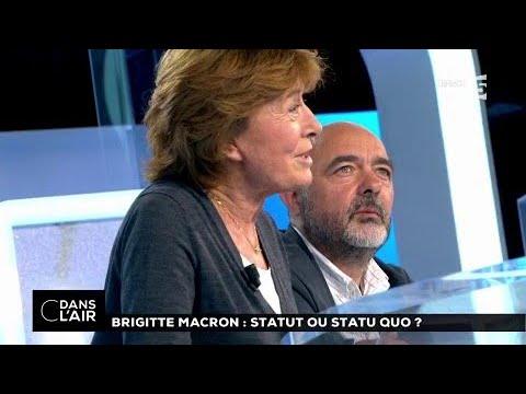 A l'Elysée, quel statut pour Brigitte Macron ? #cdanslair 08.08.2017