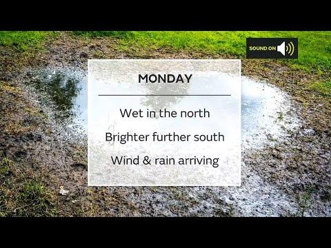 Monday morning forecast 05/07/21