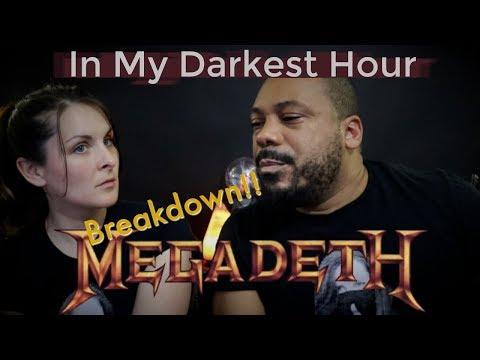 Megadeth In My Darkest Hour Reaction!!!
