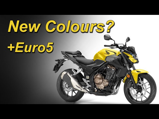 2021 Honda CB500F Update | CBR500R | CB500X | Now Euro5