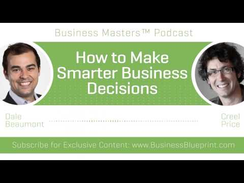 How to Make Smarter Business Decisions | Creel Price