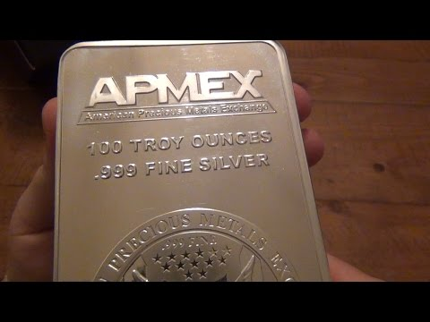 Precious Metals From APMEX - Most Silver I Ever Bought (1/29/2016)