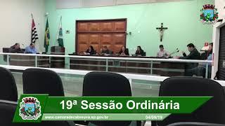 Sessão da Câmara - 04.09.19