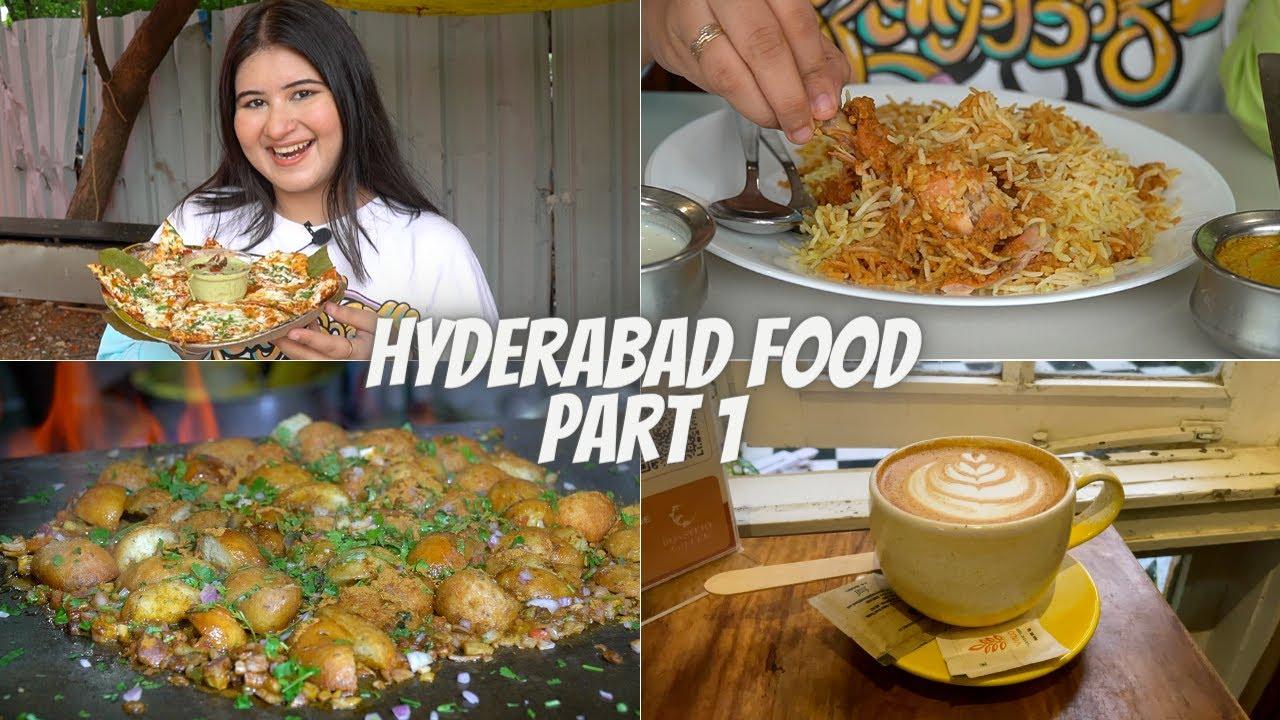 Hyderabad Food (Part 1) | Paradise Biryani, Pizza Dosa, Shawarma & More