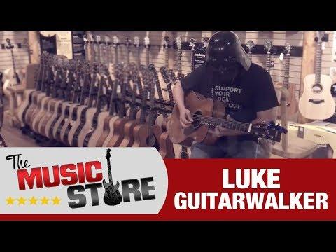 The Music Store: Luke Guitarwalker