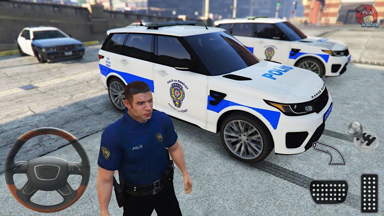 Range Rover Türk Polis Arabası Oyunu    GTA 5 Gerçek Hayat - Gameplay FHD