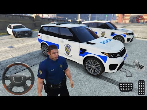 Range Rover Türk Polis Arabası Oyunu || GTA 5 Gerçek Hayat - Gameplay FHD